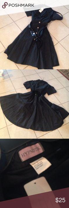 NWT 50's INSPIRED POPLIN DRESS SZ 16 NWT 50's INSPIRED POPLIN DRESS SZ 16 THIS CAN DIT ANYBODY SZ M or L Dresses Midi