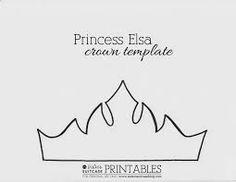 Resultado de imagem para coroa molde princesa