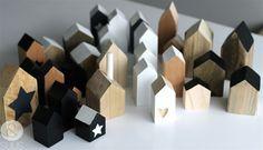 Petites maisons bois & Suus via Nat et nature