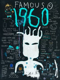 JEAN MICHEL BASQUIAT at night
