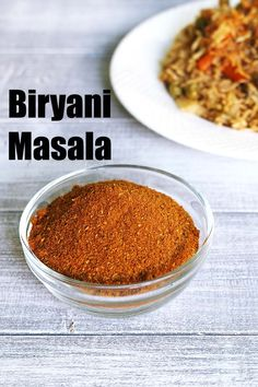 Biryani Masala Powder Recipe - a unique spice blend powder used for making perfect biryani. This can be used in making pulao too. This biryani masala powder is very fragrant and flavorful.