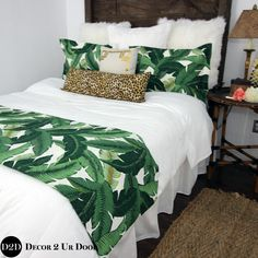 18 Ideas For Apartment College Bedroom Decor Bed Sets Tropical Bedding, Tropical Bedrooms, Tropical Home Decor, Tropical Colors, Tropical Furniture, Tropical Interior, Coastal Bedding, Tropical Master Bedroom, Best Bedding Sets