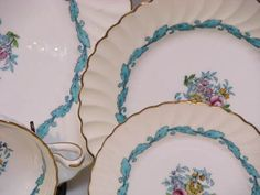 Minton Ardmore pattern.  Another of my faves for my mix and match collection.