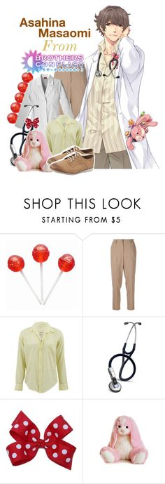 """""""Asahina Masaomi from Brothers Conflict!"""" by drinkdionysus ❤ liked on Polyvore featuring Brunello Cucinelli, Frank & Eileen, Aurora World, Rollie, women's clothing, women, female, woman, misses and juniors"""