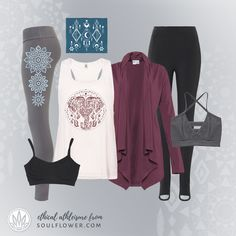 Ethical Athleisure Clothing Brand Soul Flower