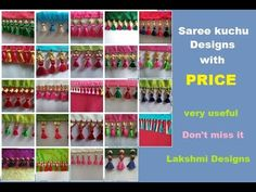 Saree kuchu/tassels designs with price In this video shown top 25 designs with price. Saree Tassels Designs, Saree Kuchu Designs, Blouse Designs, Tatting Necklace, Polymer Clay Embroidery, Long Gown Dress, Blouse Back Neck Designs, Beaded Jewelry Patterns, About Me Blog