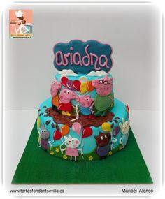 Peppa Pig and friends - Cake by MaribelAlonso