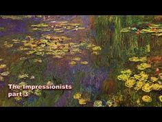 The Impressionists - Part 3 of 3 - Monet, Degas, Renoir, Cezanne, Manet, Art, Documentary