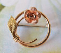 Vintage Krementz Delicate Circle Pin by KKCollectibleCollage, $18.00 https://www.etsy.com/listing/169303725/vintage-krementz-delicate-circle-pin