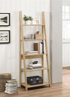 Give your books a safe home with this space-saving bookcase. It features five sturdy shelves that offer ample space for your favourite trinkets and comes in a w