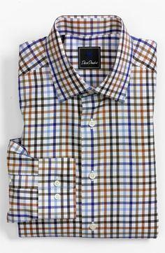 David Donahue Regular Fit Dress Shirt | Nordstrom