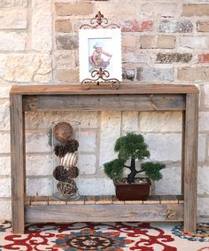 Take a look at this Natural 36'' Rustic Entryway Table today!