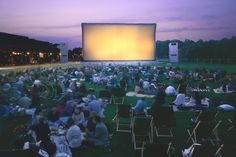 Cinéma en plein air at the Parc de La Vilette, films start at sundown and best of all..it's free!