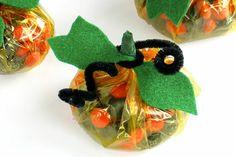 Pumpkin Candy Favors