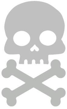Silver Skull and Cross Bone Bicycle Reflector Reflective Sticker Decal Fun Reflector,http://www.amazon.com/dp/B002ZARUYC/ref=cm_sw_r_pi_dp_YwPSsb0Q1DXCA19K