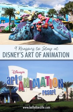 Top reasons you should stay at Art of Animation at Disney. Why families will love staying at this beautifully themed resort! Disney World Map, Disney World Hotels, Disney World Planning, Walt Disney World Vacations, Disney World Resorts, Disney Trips, Disney Parks, Little Mermaid Room, Disney Art Of Animation