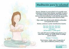 Meditación para la voluntad
