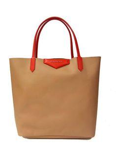 8e8afc375184 GIVENCHY AntigonaShop(M)ジバンシィ アンティゴナ ベージュ5315. Cowhide LeatherShopping  BagGivenchyShopping Bags