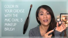 How To Apply Color in Your Crease With the MAC Oval 3 Masterclass Makeup Brush