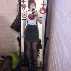 College #skinheadgirl #skinhead #docmartens #drmartenstyle #drmartens #trojanrecords #skadforlife #trojan
