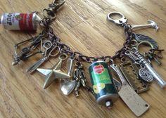 The MINI Zombie Apocalypse Charm Bracelet ZA320 by NormanJewelry, $30.00