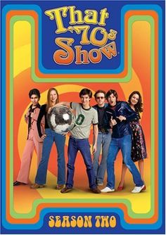 That '70s Show is about a group of friends in the 70s. also depicts life during the 70s, such as the usage of marijuana...http://www.imdb.com/title/tt0165598/?ref_=sr_1