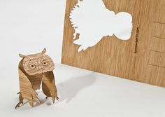 Fantastic! Wooden Greetingcard from formes-berlin