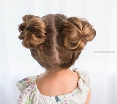 5 fast, easy, cute hairstyles for girls – Pigtail Hairstyles Pigtail Hairstyles, Baby Girl Hairstyles, Girl Haircuts, Short Haircuts, Kids Hairstyle, Hairstyle Ideas, Latest Haircuts, Hairstyle Photos, Easy Little Girl Hairstyles