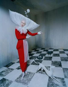 tim walker photographs the surreal royalty of tilda swinton | look | iD