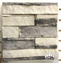 Dry Stack (Color: Glacier) www.KodiakMountain.com   Kodiak Mountain Stone Manufactured Stone, Natural Stones, Mountain, Profile, Texture, Projects, Color, Inspiration, User Profile