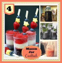 mason jar cocktail recipes