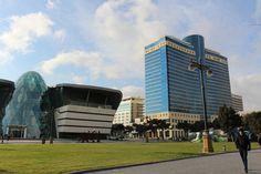 Baku - Boulevard - Park-Bulvar Mall - Hilton Hotel