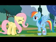 My Little Pony: Friendship is Magic - Fluttershy cheer - YouTube