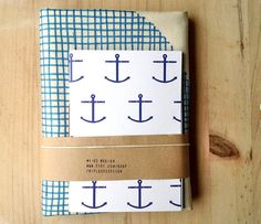 Delft blue geometric by Martina on Etsy