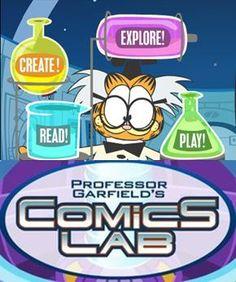 Professor Garfield Cartoon Maker  (from Comics Lab)