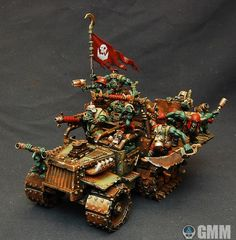 MUST SEE: Before Fury Road - Mad Max Orks - Spikey Bits