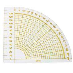 Fan Angle Fabric Ruler
