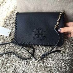 "Tory burch cross body Authentic and NWT comes with dust bag. 9""(W) x 5.9""(H) x 3""(D) Tory Burch Bags Crossbody Bags"