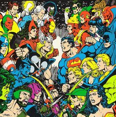 Marvel Vs. Dc Comic by George Perez