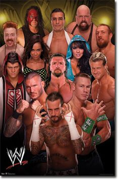 WWE - Group 12 Poster