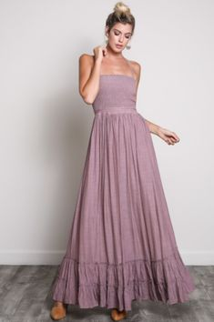 pink_mauve_strappy_back_open_back_maxi_dress_grande what to wear for an atlanta maternity photo shoot