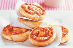 Let the kids loose in the kitchen to create these tasty scrolls which make fantastic lunch-box fillers.