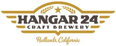 Logo of the Hangar 24 craft brewery in Redlands