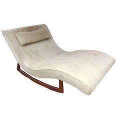 Adrian Pearsall Craft Ociates Lounge Chair Rocking Chaise Rocker