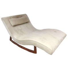 1000 images about antique new chaise lounges on for Adrian pearsall rocking chaise