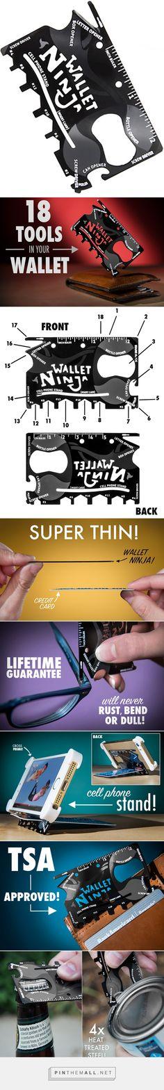 Wallet Ninja: 18-in-1 multi-tool for your wallet