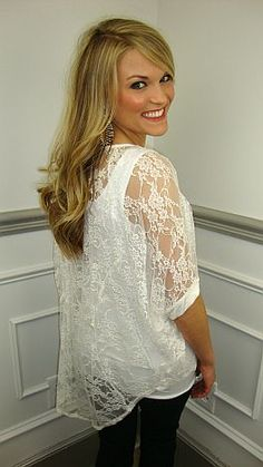 Lace is so in right now!