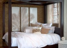 Love this bed from z gallerie Feng Shui Master, Interior Decorating, Interior Design, Hexagon Shape, Lanterns, Master Bedroom, Patio, Outdoor, Furniture