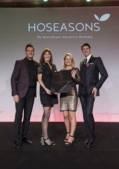 Hoseasons Award for Family Fun - Devon, Somerset and Dorset 2016 presented by Vernon Kay
