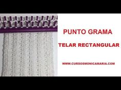 PUNTO GRAMA TELAR RECTANGULAR // Tutorial Puntos Basicos Telar Maya